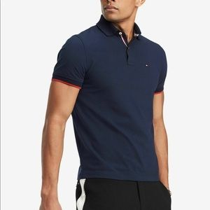 Tommy Hilfiger Men's Slim Custom Fit Blue